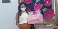 Sindicato beneficia 68 mamães comerciárias com o kit bebê
