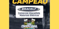 Bracelf é campeã da Copa Comerciária Virtual de Futsal