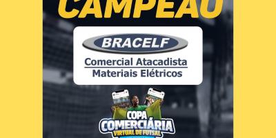 imagem - Bracelf é campeã da Copa Comerciária Virtual de Futsal