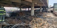 Imagem - Incêndio destrói Shopping Azul em Rio Preto