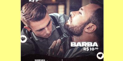 imagem - Barbearia atende comerciários no Centro de Benefícios