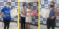 Comerciárias recebem kit maternidade