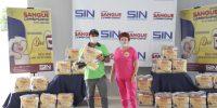 Sindicato distribui 70 cestas básicas aos sócios doadores no sábado
