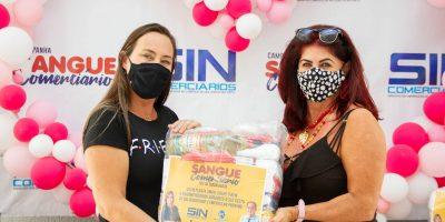 imagem - Segunda semana de entrega de cestas básicas movimenta Clube Social
