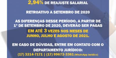 imagem - Convenção Coletiva 2020/2021 é assinada e garante o recebimento de abono retroativo