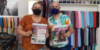 """Comerciários recebem nova edição do jornal """"Em Notícias"""""""