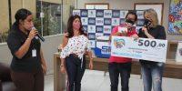 """Promoção """"Mês dos Pais premiado"""" presenteia 3 comerciários"""
