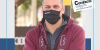 """""""Vida segura, comércio seguro"""" – Ação entre Sincomerciários e Guilherme Baffi é sucesso no calçadão"""