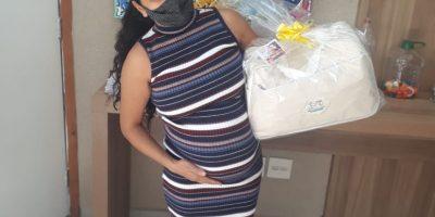 imagem - Comerciárias recebem kit maternidade no Centro de Benefícios