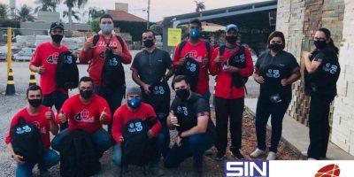 Trabalhadores da empresa Pedregal são sindicalizados