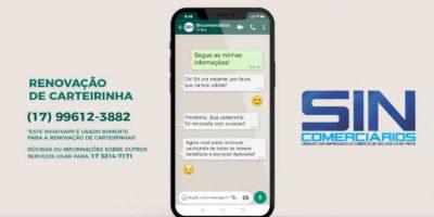 imagem - Associados agora podem renovar carteirinha pelo WhatsApp