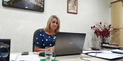 imagem - Presidente Márcia Caldas defende maior participação da mulher na política